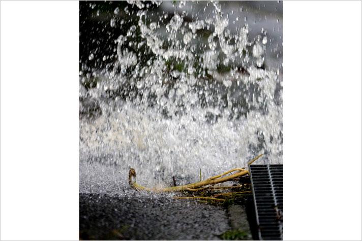 水 ハザード マップ 氾濫 内