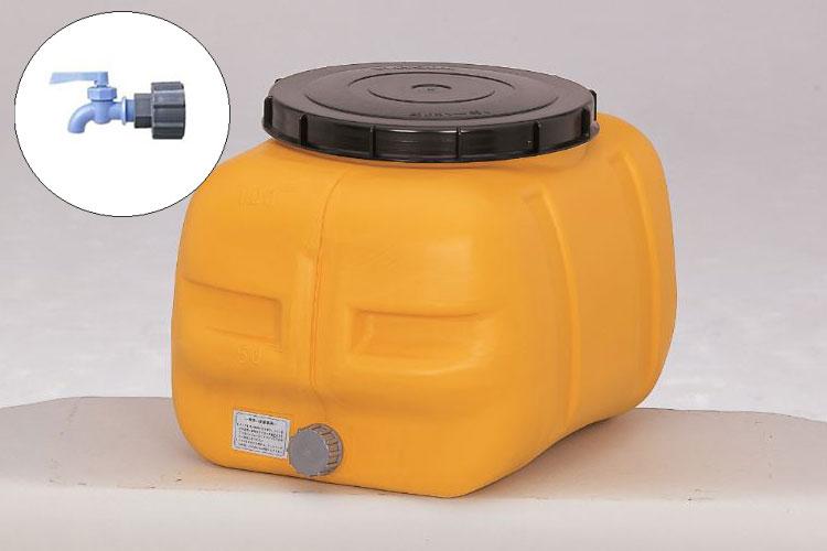 コダマ樹脂工業製タマローリータンク100リットル「ポリコック」セット 型番LT-100