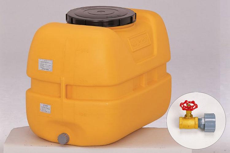 コダマ樹脂工業製タマローリータンク500リットル「1インチ(25A)バルブ」セット 型番LT-500