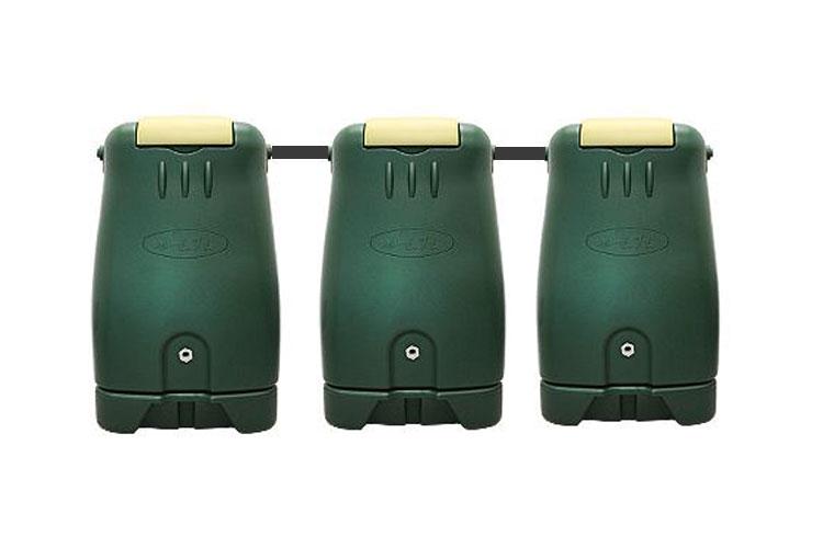 コダマ樹脂工業製ホームダムトリプル750リットル 型番RWT750