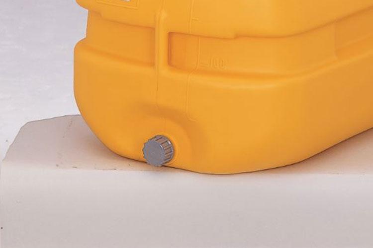 コダマ樹脂工業製タマローリータンク用部品ドレンキャップ