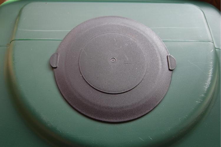 コダマ樹脂工業製ホームダムミニ110リットル専用上蓋キャップ