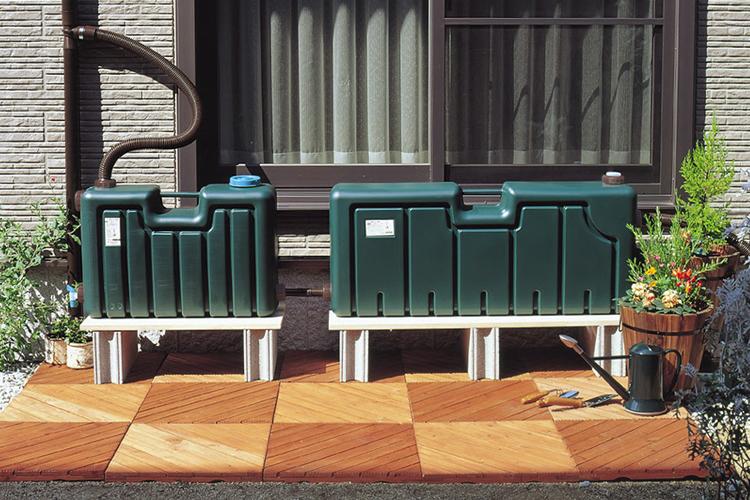 【雨水タンク】 ミツギロン製 雨水タンク80+50リットル