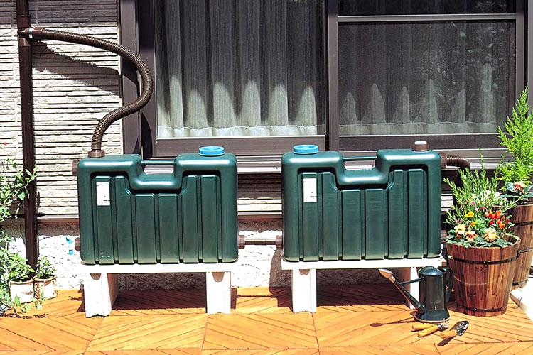 ミツギロン製雨水タンク100リットル