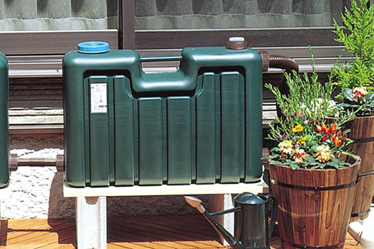 ミツギロン製雨水タンク50リットル連結用