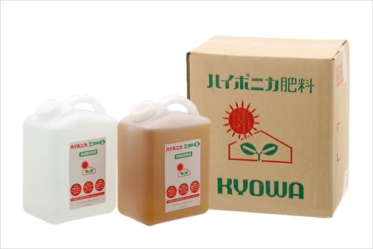 ハイポニカ液体肥料徳用4000mlセット 型番040014