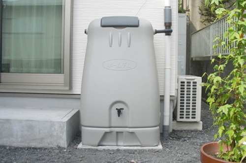 コダマ樹脂工業製ホームダム250リットル(グレー・丸ドイ用) 型番RWT250