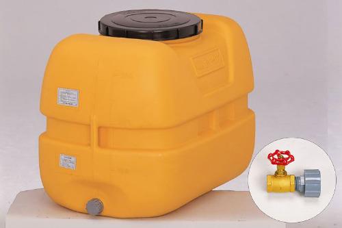 コダマ樹脂工業製タマローリータンク「 1インチ(25A)バルブ」セット 型番LT-300