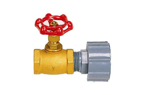 コダマ樹脂工業製タマローリータンク用部品1インチ(25A)バルブセット