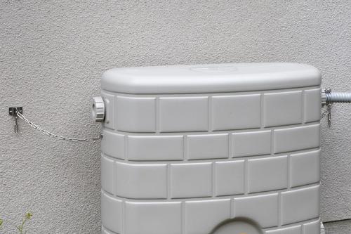 タキロンシーアイ製雨水タンク転倒防止クサリ(タキロン雨音くん120L・アメマルシェ120L・NEW雨音くん150L専用)