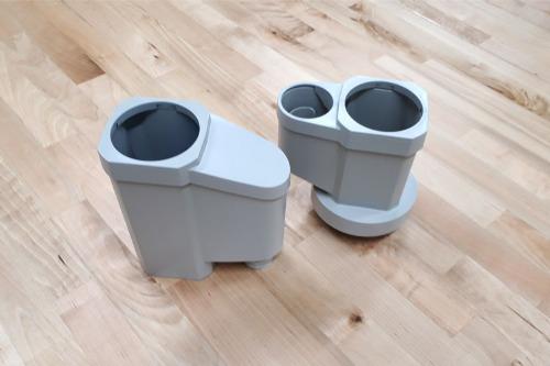 パナソニック電工製集水器「たてとい接続キット」