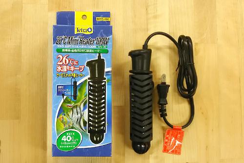 テトラ 26℃ ミニヒーター(液肥槽加温・観賞魚飼育用)