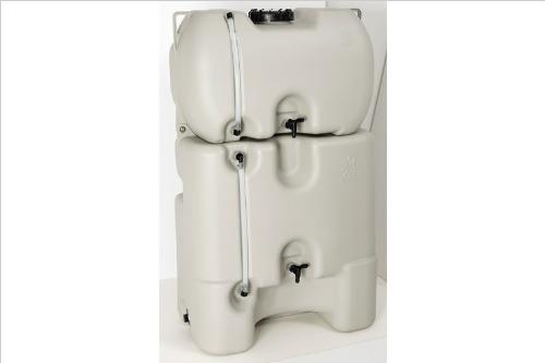 【雨水タンク】コダマ樹脂工業製 ホームダム330リットル グレー 丸ドイ角ドイ対応 型番RWT330