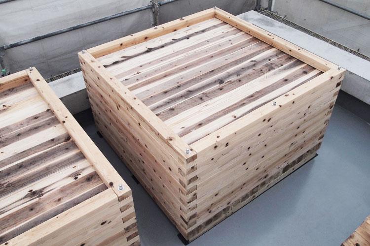 風大地プロダクツ製雨びつ1300リットル