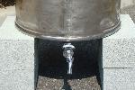 ステンレスドラム製舞姫天水(まいひめてんすい)215リットル