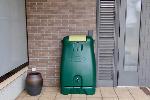 コダマ樹脂工業製ホームダム250リットル(グリーン・丸ドイ用) 型番RWT250