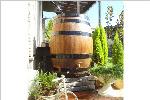 ウイスキー樽雨水タンク樽王500リットル
