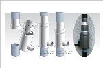 ドイツ製集水器雨水コレクターWISYウィジー 丸ドイ60mm対応アダプター付 GS90(0.44mmメッシュ)