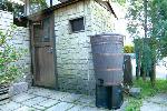 英国製木樽風ウッドバレル120リットル