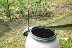 雨水簡易集水ネット雨葉(あめは)ネット