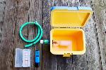ホームハイポニカ303用補水器と濃度計