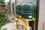 コダマ樹脂工業製ホームダムミニダブル110リットル2台セット 型番RWT220