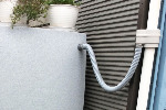 【雨水タンク】 タカショー製 ノーブル 275リットル 3点セット