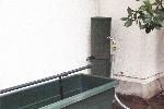 風大地プロダクツ製雨びつ専用自動かん水装置Bタイプ