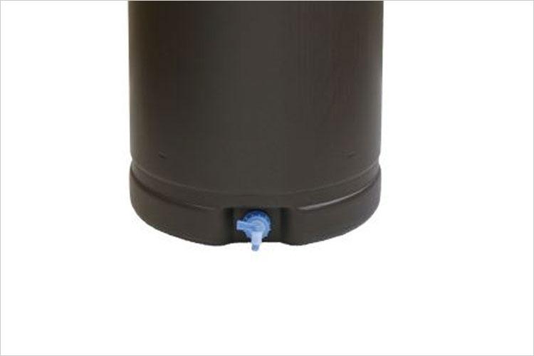 【雨水タンク】 安全興業製 雨水貯留タンク185リットル 専用蛇口コック